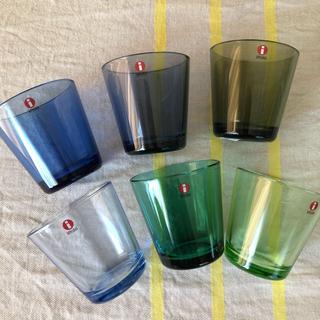 イッタラ(iittala)の新品☆ イッタラ カルティオ  6個セット (グラス/カップ)