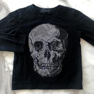 ジョンリッチモンド(JOHN RICHMOND)のJOHN RICHMOND 長袖Tシャツ ロンT 110 ラインストーン (Tシャツ/カットソー)
