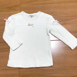 パンプルムース(Pample Mousse)のパンプルムース 長袖 90(Tシャツ/カットソー)