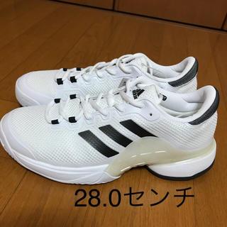 アディダス(adidas)のアディダス テニスシューズ バリケード 28.0(シューズ)
