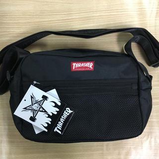 スラッシャー(THRASHER)の新品 スラッシャー ショルダー バッグ ブラック ユニセックス サコッシュ (ショルダーバッグ)