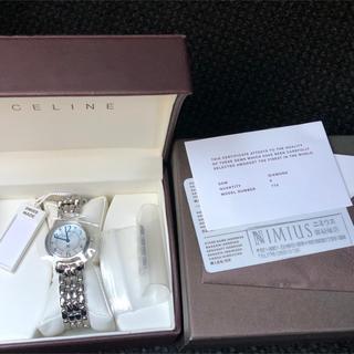 セリーヌ(celine)のCeline セリーヌ時計.. ダイヤモンド可愛い(腕時計)