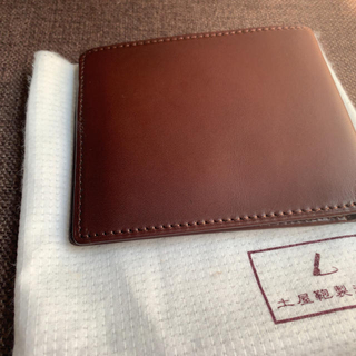 ツチヤカバンセイゾウジョ(土屋鞄製造所)の【新品/未使用】土屋鞄 二つ折り財布(折り財布)