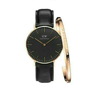 ダニエルウェリントン(Daniel Wellington)のクラッシーブラック40MM ダニエルウェリントン 腕時計とバングル セット(腕時計(アナログ))