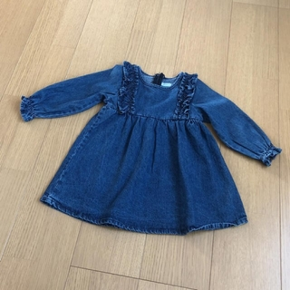 ザラキッズ(ZARA KIDS)の発送前セール!韓国子供服♡デニムワンピ(ワンピース)