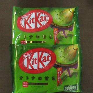 ネスレ(Nestle)のキットカット 大人の甘さ抹茶 2袋セット(菓子/デザート)