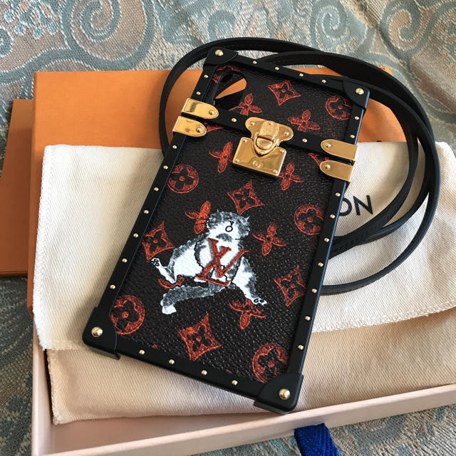 LOUIS VUITTON - よし様ご依頼分 専用 ルイヴィトンiPhone X/XSトランク型ケース 新品の通販 by mami|ルイヴィトンならラクマ