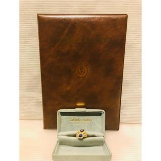 K18 天然サファイア S 1.92ct 天然ダイヤモンド D 1.05ct (リング(指輪))