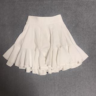 ザデイズトウキョウ(The Dayz tokyo)のthe dayz Tokyo 白のフリルスカート(ミニスカート)