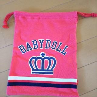 ベビードール(BABYDOLL)のベビードール 巾着袋 未使用(ポーチ)