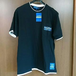 グッドイヤー(Goodyear)のメンズL  GOOD YEAR  グッドイヤー ブラック Tシャツ(Tシャツ/カットソー(半袖/袖なし))