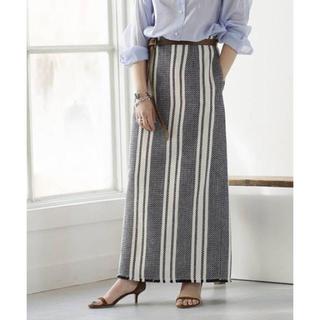 プラージュ(Plage)の2019SS RIAM MEXiCANツィードスカート(ロングスカート)