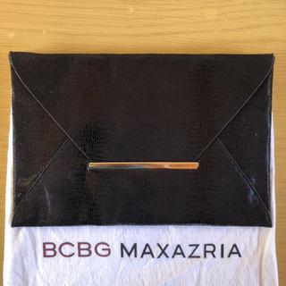 ビーシービージーマックスアズリア(BCBGMAXAZRIA)のBCBGMAXAZRIA新品タグ付きクラッチバッグ(クラッチバッグ)