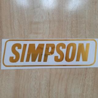 シンプソン(SIMPSON)のシンプソン艶ありステッカー(ステッカー)