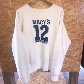 ザリアルマッコイズ(THE REAL McCOY'S)のThe REAL McCOY'S  スウェット 前V ナンバリング(スウェット)