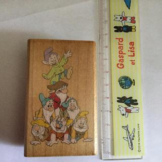 ディズニー(Disney)のディズニー 7人の小人 スタンプ(はんこ)