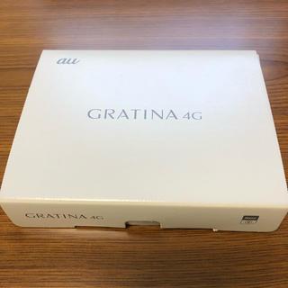 GRATINA 4G kYF31 Simロック解除済み(携帯電話本体)