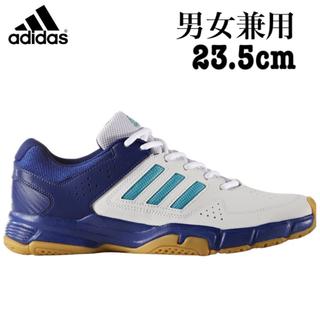 アディダス(adidas)の新品 アディダス 男女兼用 バドミントンシューズ 23.5(バドミントン)