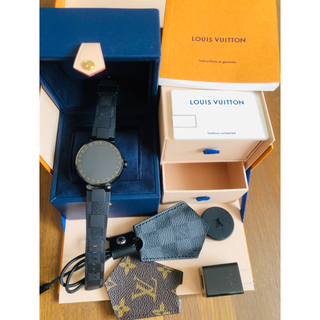 ルイヴィトン(LOUIS VUITTON)のLOUIS VUITTON タンブールホライゾン(腕時計(デジタル))