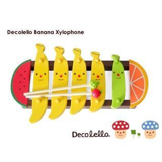 デコレ バナナ シロフォン(木琴)