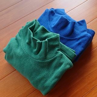 ユニクロ(UNIQLO)のあい様へ ブルーのみです ユニクロフリース フリースモックネック(シャツ)