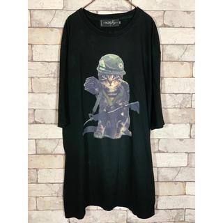 ミルクボーイ(MILKBOY)のMILKBOY cat army Tシャツ ビックシルエット ミルクボーイ(Tシャツ/カットソー(半袖/袖なし))
