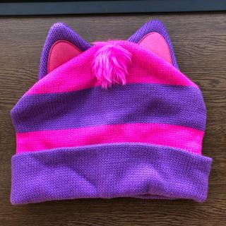 ディズニー(Disney)のディズニー チシャ猫 ニット帽(ニット帽/ビーニー)