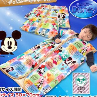 ディズニー(Disney)の新品!ディズニースリーパー☆布団、お昼寝、寝冷え対策、旅行、コンビミニ、ミッキー(ベビー布団)