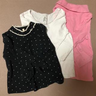ギャップ(GAP)の女の子長袖三点セット♡(Tシャツ/カットソー)