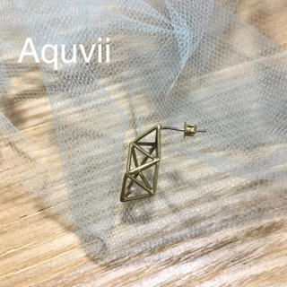 ウォール(WALL)のAquvii  ピアス(ピアス)