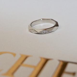 ブシュロン(BOUCHERON)のブシュロン ファセット ダイヤモンドリング pt950 8号(リング(指輪))