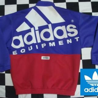 アディダス(adidas)の【アディダス】超かっこいい80年代ビンテージジャージジャケットL-O(ジャージ)