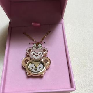 ダッフィー(ダッフィー)の香港ディズニーダッフィーシェリーメイネックレス時計(腕時計)