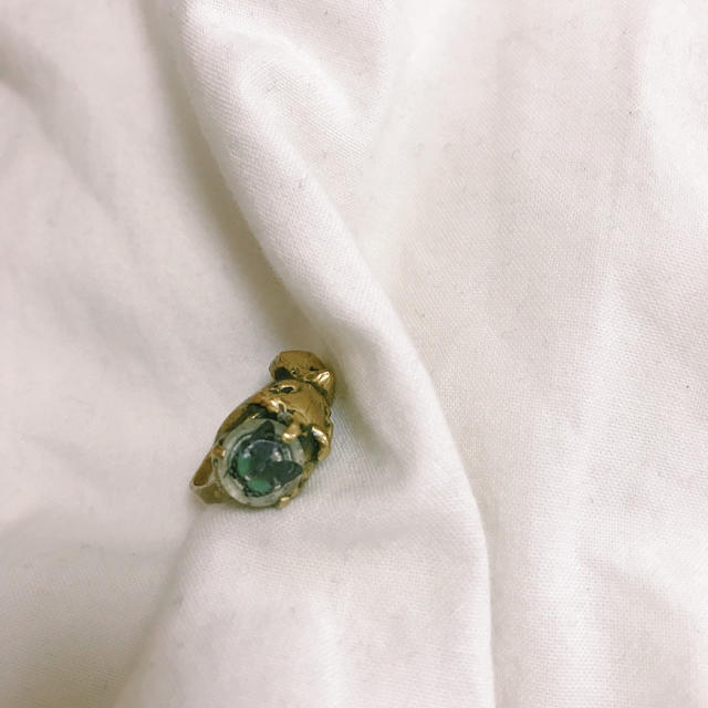 Grimoire(グリモワール)のReinette et mirabelle 蝶モチーフ リング レディースのアクセサリー(リング(指輪))の商品写真
