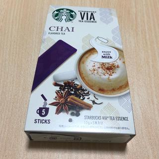 スターバックスコーヒー(Starbucks Coffee)のスタバ チャイティー スティック(茶)
