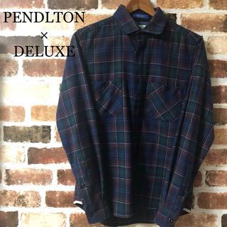 デラックス(DELUXE)の[ DELUXE × PENDLTON ] 希少 デラックス ウール シャツ(シャツ)