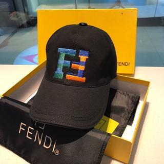 フェンディ(FENDI)のフェンディ FENDI 刺繍 キャップ 野球帽 (キャップ)