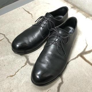 パドローネ(PADRONE)のPADRONE パドローネ ダービープレーントゥ 黒 サイズ40(ドレス/ビジネス)