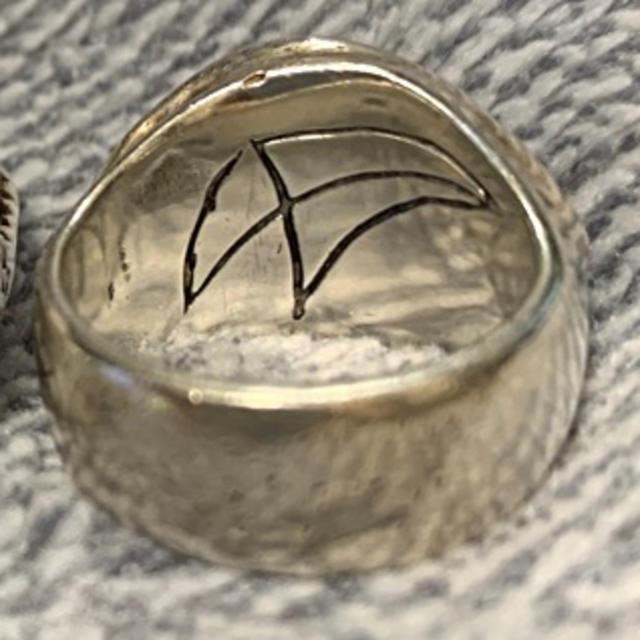 CRAZY PIG(クレイジーピッグ)のクレイジーピッグラッシュアイリング メンズのアクセサリー(リング(指輪))の商品写真