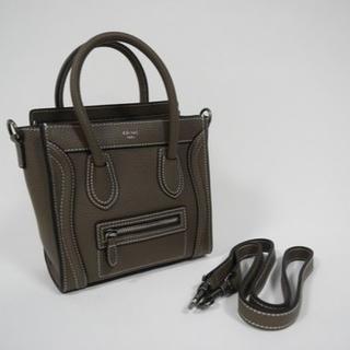 1fd63725a9cc セリーヌ ラゲージ(ブラウン/茶色系)の通販 80点 | celineを買うならラクマ