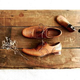 ショセ(chausser)のお取り置き chausser ウィングチップ レースアップ シューズ(ローファー/革靴)