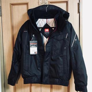 バートル(BURTLE)の新品バートル 7210 ジャケット ブラック 作業着 バイク(ブルゾン)