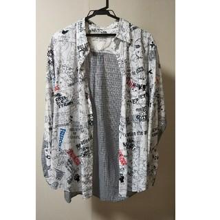 ノゾミイシグロ(NOZOMI ISHIGURO)のNOZOMI ISHIGURO 落書きシャツ(シャツ/ブラウス(長袖/七分))