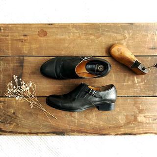 ショセ(chausser)のchausser C-2232 ショセ サイドエラスティック シューズ 23.0(ローファー/革靴)