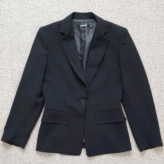 DKNY スーツ ジャケット黒4