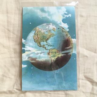 アッシュペーフランス(H.P.FRANCE)のJohn Derian ジョンデリアン ポストカード ⑥ WORLD 地球(切手/官製はがき)
