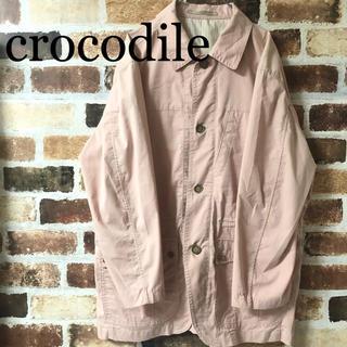 950118a50f01 クロコダイル(Crocodile)の[ crocodile ]クロコダイル フルジップ ジャケット ピンク(その他)