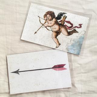 アッシュペーフランス(H.P.FRANCE)のJohn Derian ジョンデリアン ポストカード 2枚セット ⑦ arrow(切手/官製はがき)