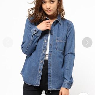 マウジー(moussy)のmoussy デニムシャツ 美品(Gジャン/デニムジャケット)