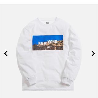 シュプリーム(Supreme)のKITH New York Hollywood LS white Sサイズ(Tシャツ/カットソー(七分/長袖))